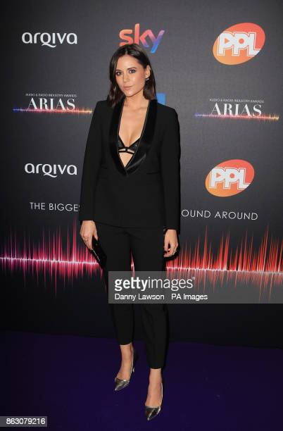 Lilah Parsons attending the Audio and Radio Industry Awards at the First Direct Arena in Leeds