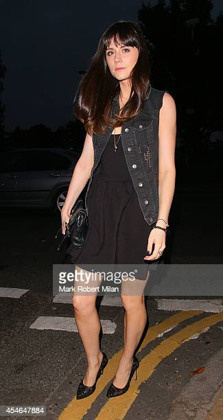 Lilah Parsons attending the Trillion Fund and Finding Infinity OFFtheGRID solar party on September 4 2014 in London England