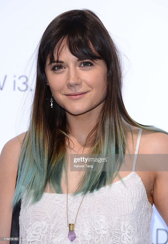 <a gi-track='captionPersonalityLinkClicked' href=/galleries/search?phrase=Lilah+Parsons&family=editorial&specificpeople=9765920 ng-click='$event.stopPropagation()'>Lilah Parsons</a> attends the BMW i3 global reveal party held at Old Billingsgate Market on July 29, 2013 in London, England.