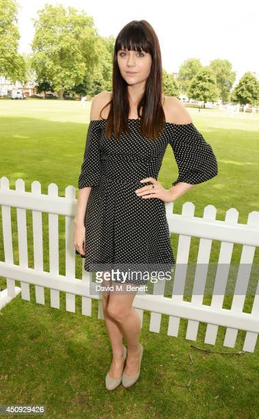 Lilah Parsons attends the 'Dockers Flannels For Heroes' cricket match at Burton Court Chelsea on June 20 2014 in London United Kingdom