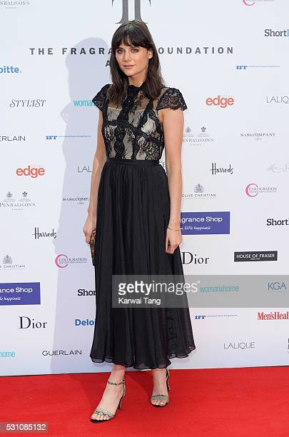 Lilah Parsons attends the Fragrance Foundation Awards at The Brewery on May 12 2016 in London England