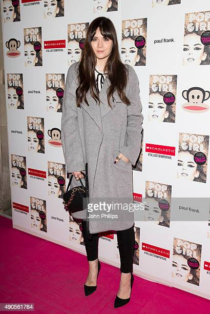 Lilah Parsons attends the launch of Tallia Storm's new book 'Pop Girl' at Tape London on September 29 2015 in London England