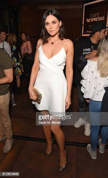 Lilah Parsons attends the launch of the new Cafe Nespresso Soho on July 11 2017 in London England