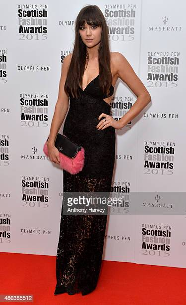 Lilah Parsons attends the Scottish Fashion Awards at Corinthia Hotel London on September 3 2015 in London England