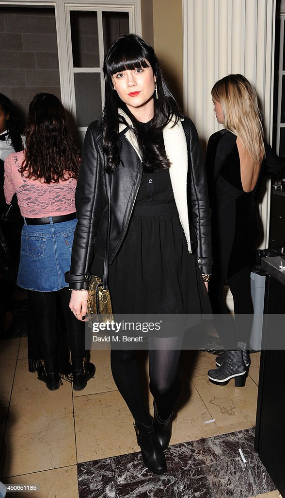 Lilah Parsons attends the Steam And Rye launch party on November 19, 2013 in London, United Kingdom.