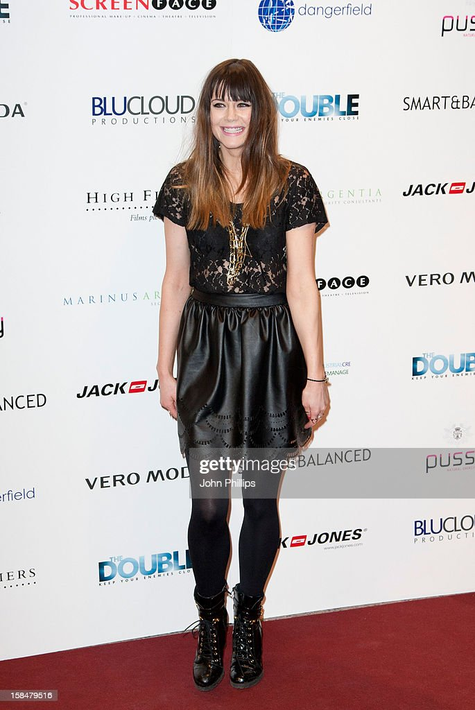 Lilah Parsons attends the UK Film Premiere of 'The Double' on December 17, 2012 in London, England.