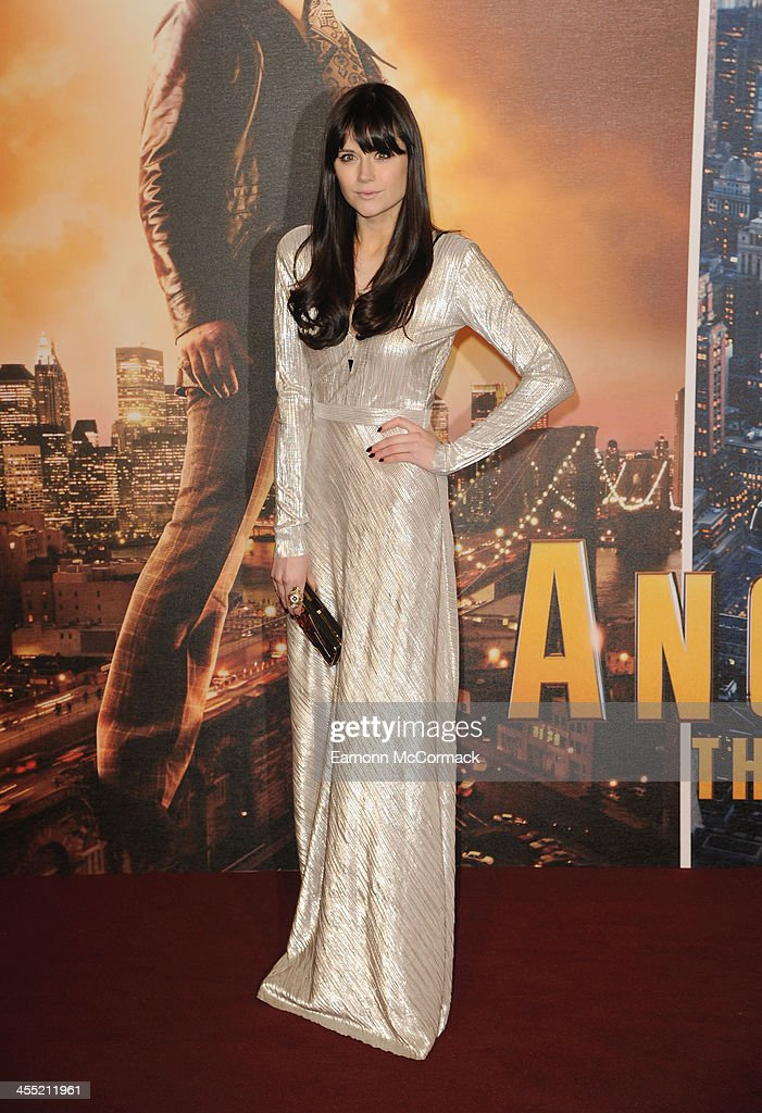 Lilah Parsons attends the UK premiere of 'Anchorman 2: The Legend Continues' at Vue West End on December 11, 2013 in London, England.