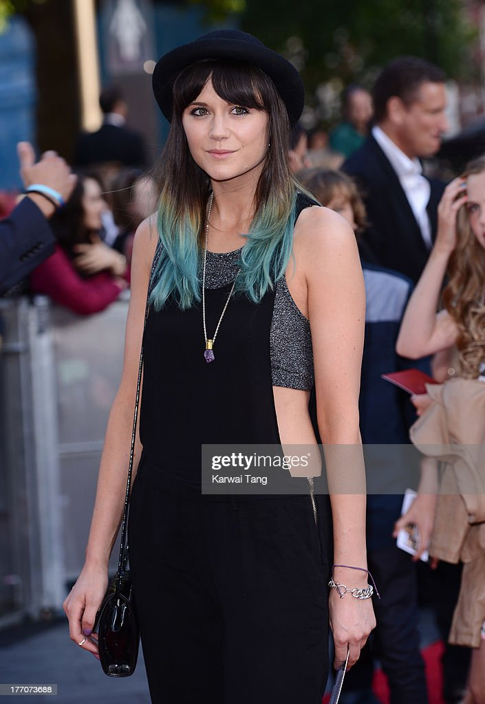 Lilah Parsons attends the World Premiere of 'One Direction: This Is Us' at Empire Leicester Square on August 20, 2013 in London, England.