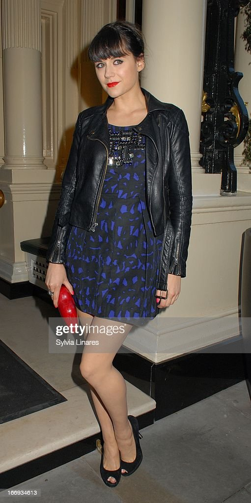 Lilah Parsons attends Womenswear Sophia Kah Launch Party Held at the Connaught hotel on April 18, 2013 in London, England.