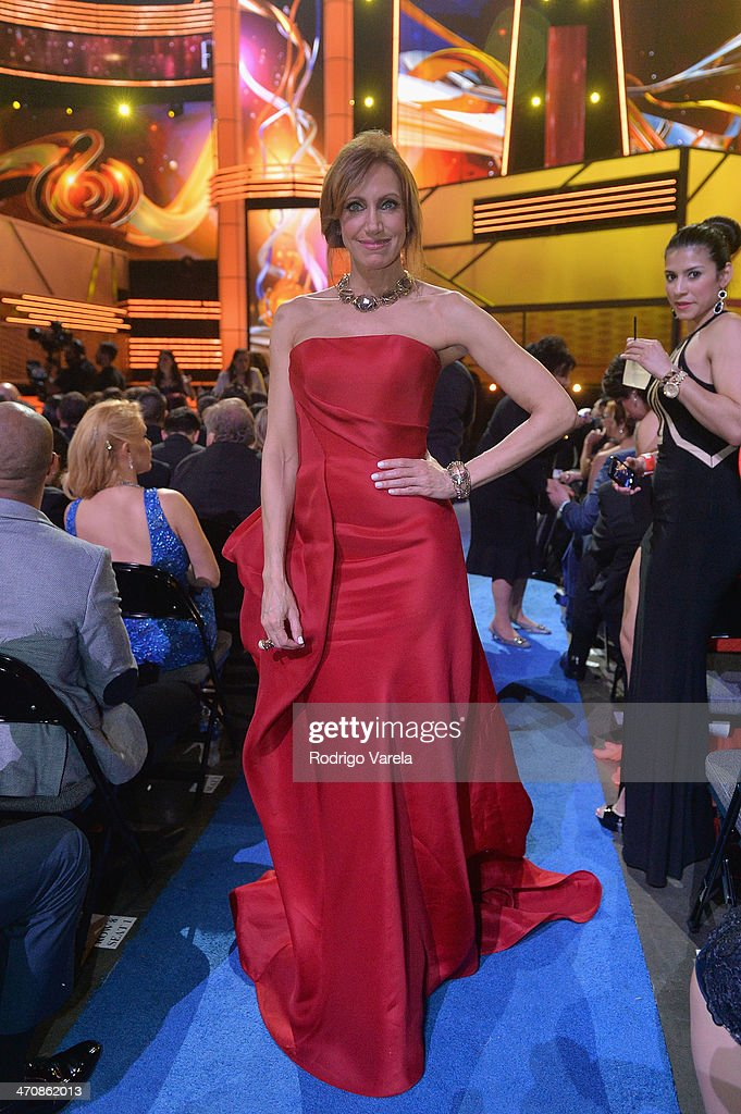 <a gi-track='captionPersonalityLinkClicked' href=/galleries/search?phrase=Lili+Estefan&family=editorial&specificpeople=751373 ng-click='$event.stopPropagation()'>Lili Estefan</a> attends Premio Lo Nuestro a la Musica Latina 2014 at American Airlines Arena on February 20, 2014 in Miami, Florida.