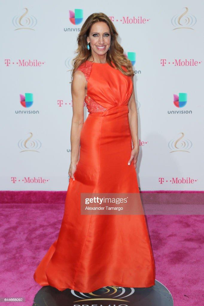 Lili Estefan attends Univision's 29th Edition of Premio Lo Nuestro A La Musica Latina at the American Airlines Arena on February 23, 2017 in Miami, Florida.