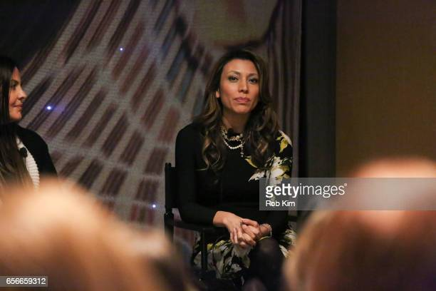 Lili Gil Valletta attends the Female Bosses celebration and BOSS BITCH book launch and interactive panel event at The Core Club on March 22 2017 in...