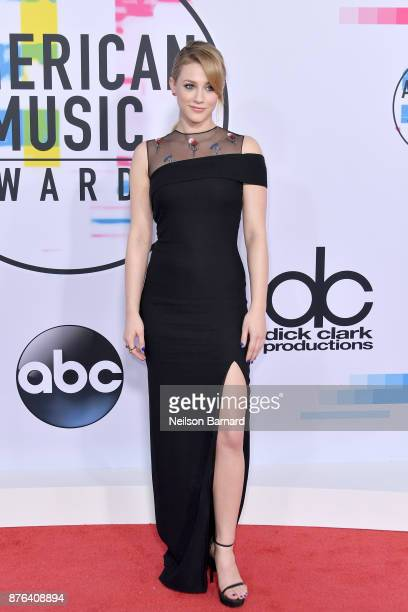 Lili Reinhart attends the 2017 American Music Awards at Microsoft Theater on November 19 2017 in Los Angeles California