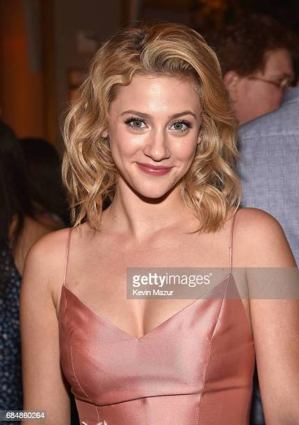 Lili Reinhart attends The CW Network's 2017 party at Avra Madison Estiatorio on May 18 2017 in New York City