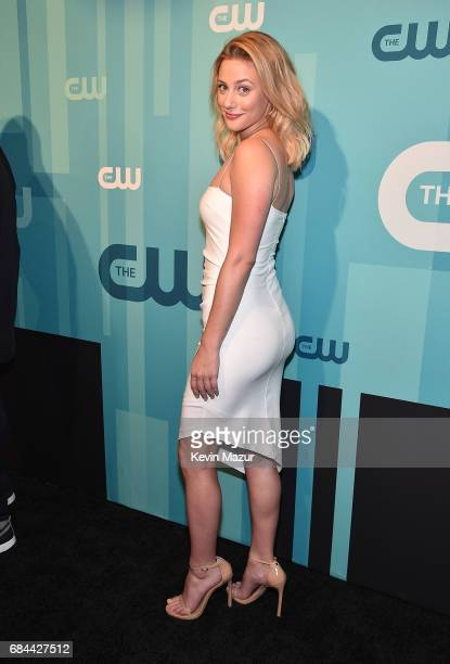 Lili Reinhart attends The CW Network's 2017 Upfront at The London Hotel on May 18 2017 in New York City