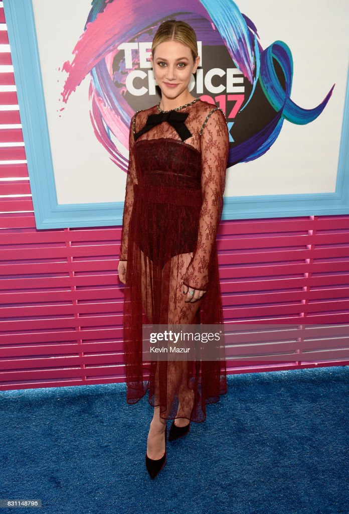 Lili Reinhart attends the Teen Choice Awards 2017 at Galen Center on August 13, 2017 in Los Angeles, California.