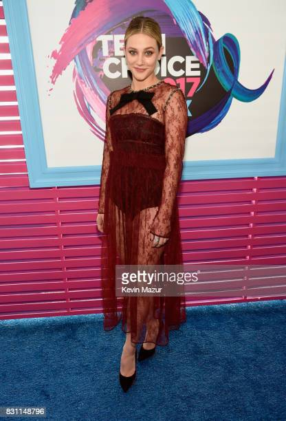 Lili Reinhart attends the Teen Choice Awards 2017 at Galen Center on August 13 2017 in Los Angeles California