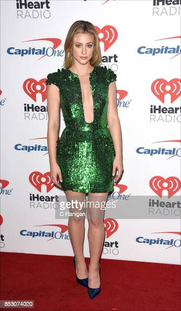 Lili Reinhart from 'Riverdale' attends the 2017 iHeartRadio Music Festival at TMobile Arena on September 23 2017 in Las Vegas Nevada