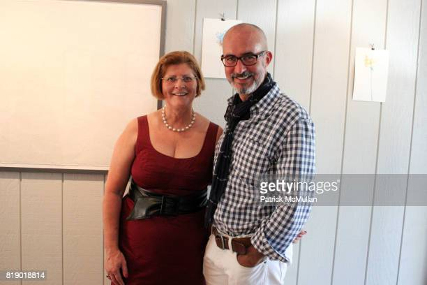 Lili Tavares and Tim O'Brien attend Gustavo Bonevardi Opening at Gallery B on May 30 2010 in Sag Harbor New York