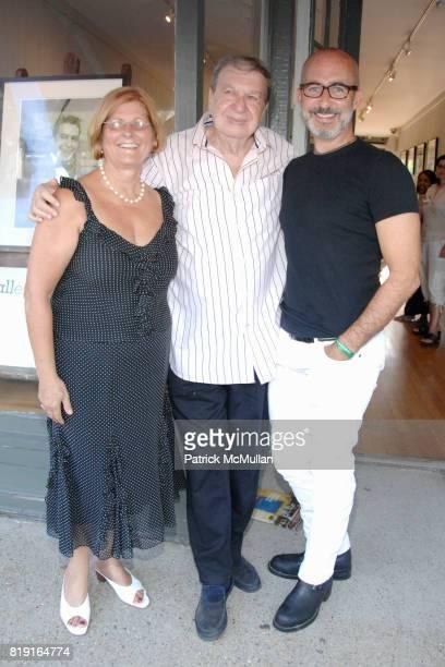 Lili Tavares John Jonas Gruen and Tim O'Brien attend Opening Reception for JOHN JONAS GRUEN at Gallery B on July 17 2010 in Sag Harbor NY