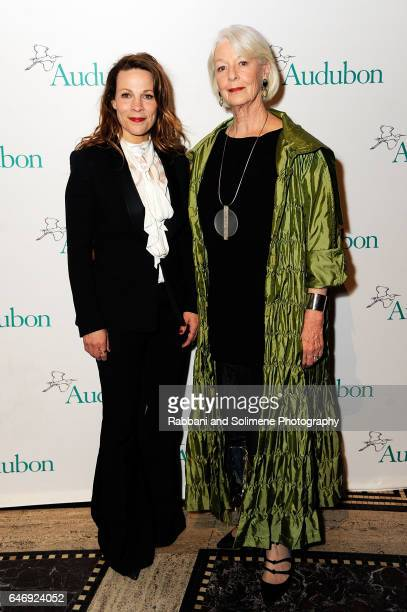 Lili Taylor and Jane Alexander attend the 2017 Audubon Gala at Gotham Hall on March 1 2017 in New York City