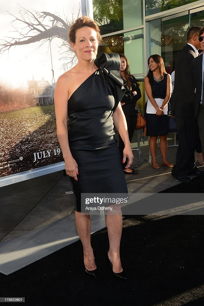 Lili Taylor attends the premiere of Warner Bros. 'The Conjuring' at ArcLight Cinemas Cinerama Dome on July 15, 2013 in Hollywood, California.