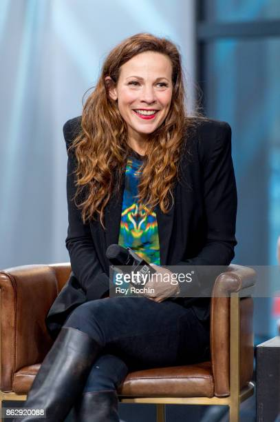 Lili Taylor discusses 'Leatherface' with the Build Series at Build Studio on October 18 2017 in New York City