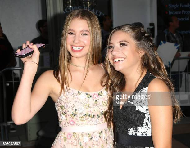 Lilia Buckingham and Mackenzie Ziegler arrive at the 2017 Los Angeles Film Festival opening night premiere of Focus Features' 'The Book Of Henry'...
