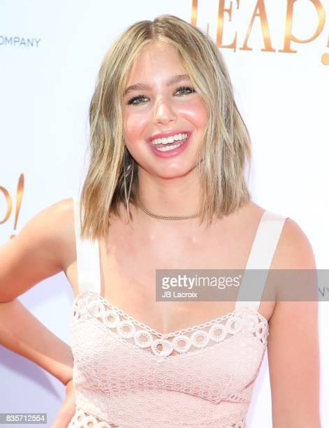 Lilia Buckingham attends the premiere of The Weinstein Company's 'Leap' on August 19 2017 in Los Angeles California