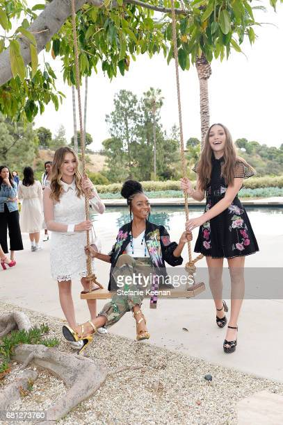 Lilia Buckingham Skai Jackson and Maddie Ziegler attend Marc Jacobs Fragrances and Kaia Gerber Celebrate DAISY on May 9 2017 in Beverly Hills...