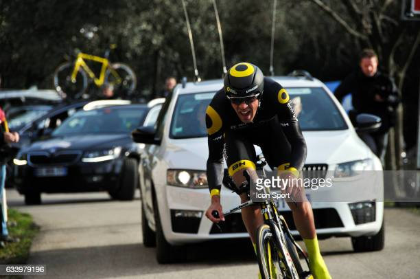 Lilian Calmejane of Direct Energie during the stage 5 of the Etoile of Besseges from Ales to Ales on February 5th 2017 in Ales France