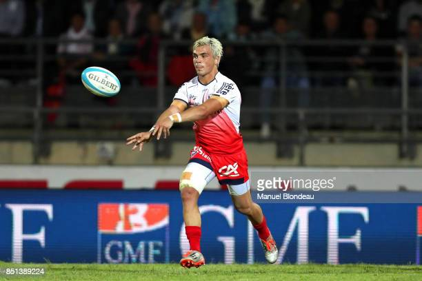 Lilian Saseras of Grenoble during the French Pro D2 match between Aviron Bayonnais and Grenoble on September 21 2017 in Bayonne France
