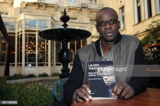 Lilian THURAM presente son livre 'Mes Etoiles Noires' Montpellier