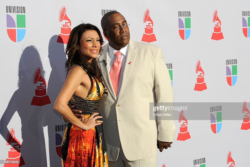 Liliana Gil and Henry Jimenez arrive at the 11th annual Latin GRAMMY Awards at the Mandalay Bay Resort & Casino on November 11, 2010 in Las Vegas, Nevada.