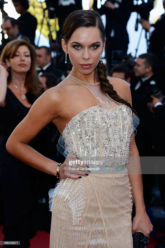 Liliana Matthaeus attends 'The Immigrant' Premiere during the 66th Annual Cannes Film Festival at Grand Theatre Lumiere on May 24, 2013 in Cannes, France.