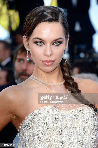 Liliana Matthaeus attends 'The Immigrant' Premiere during the 66th Annual Cannes Film Festival at Grand Theatre Lumiere on May 24 2013 in Cannes...