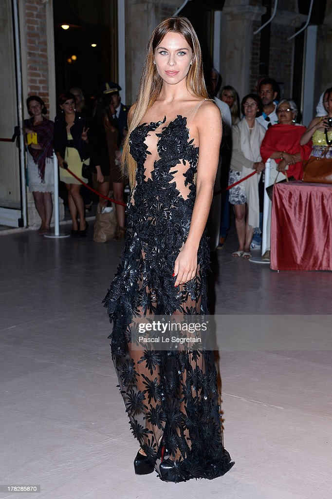 Liliana Matthaeus attends the Opening Dinner Arrivals during the 70th Venice International Film Festival at the Hotel Excelsior on August 28, 2013 in Venice, Italy.