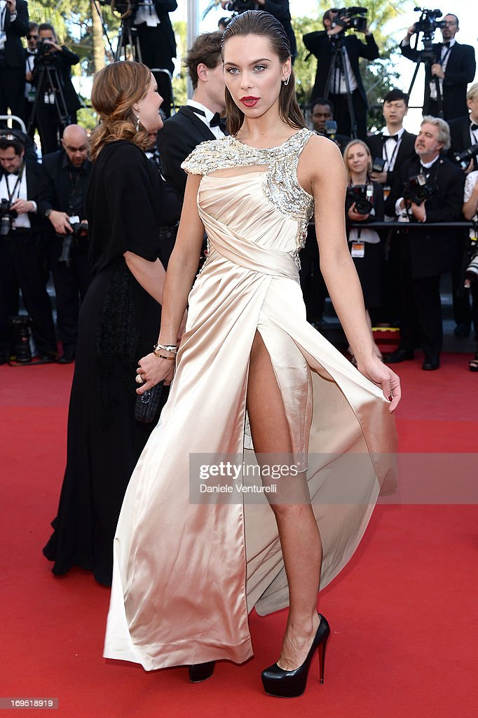 Liliana Matthaeus attends the Premiere of 'Zulu' and the Closing Ceremony of The 66th Annual Cannes Film Festival at Palais des Festivals on May 26, 2013 in Cannes, France.