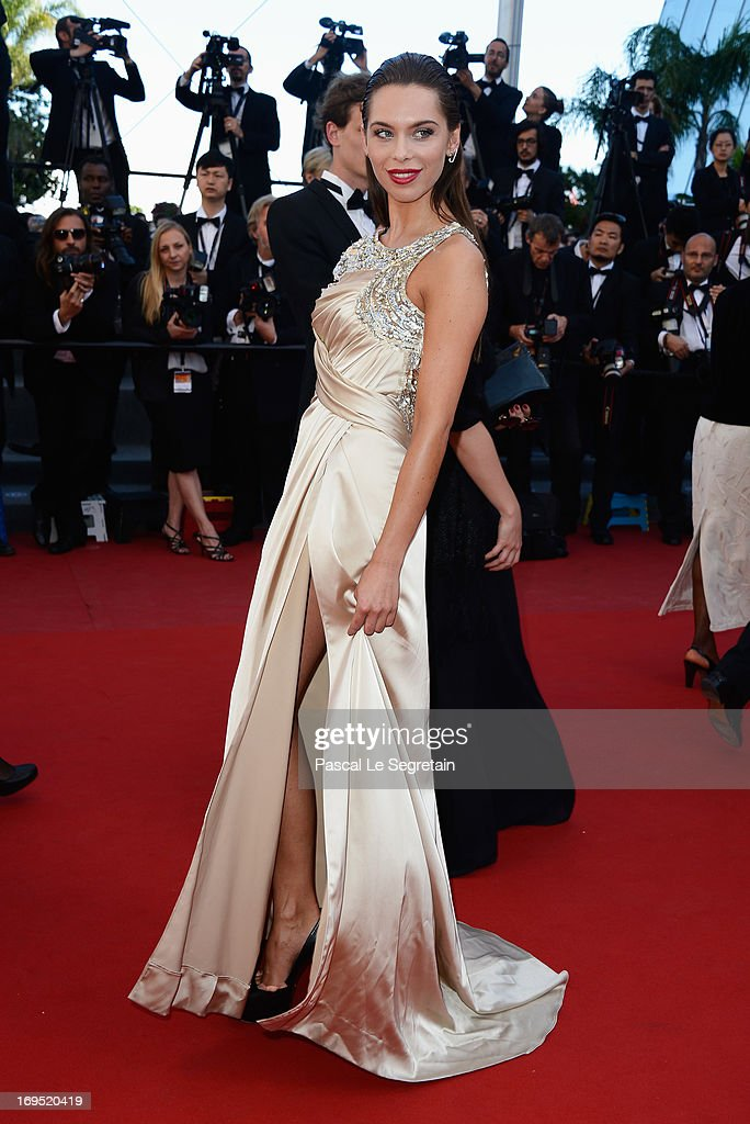 Liliana Matthaeus attends the 'Zulu' Premiere and Closing Ceremony during the 66th Annual Cannes Film Festival at the Palais des Festivals on May 26, 2013 in Cannes, France.