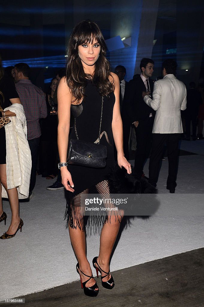 Liliana Matthaus attends a private dinner celebrating Remo Ruffini and Moncler's 60th Anniversary during Art Basel Miami Beach on December 7, 2012 in Miami Beach, Florida.