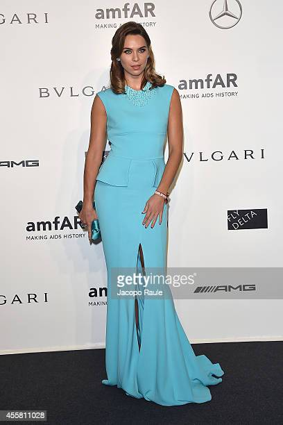Liliana Nova attends amfAR Milano 2014 during Milan Fashion Week Womenswear Spring/Summer 2015 on September 20 2014 in Milan Italy