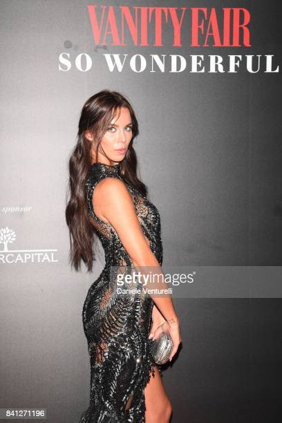 Liliana Nova attends Vanity Fair 'So Wonderful' Party during the 74th Venice Film Festival at Cipriani Hotel on August 31 2017 in Venice Italy