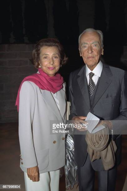 Liliane and Andr{ Bettencourt