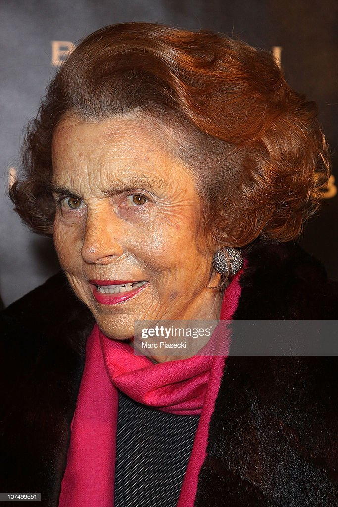 <a gi-track='captionPersonalityLinkClicked' href=/galleries/search?phrase=Liliane+Bettencourt&family=editorial&specificpeople=2343695 ng-click='$event.stopPropagation()'>Liliane Bettencourt</a> attends the exhibition launch for Bulgari 125th anniversary celebration at Grand Palais on December 9, 2010 in Paris, France.