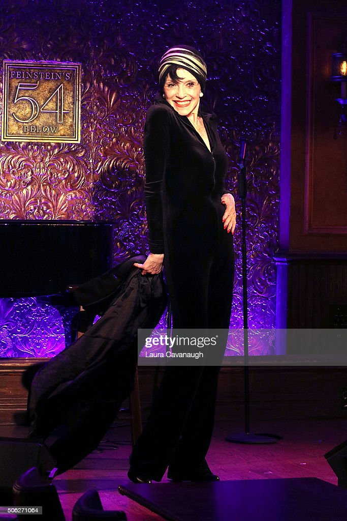 Liliane Montevecchi attends 54 Below Press Preview at 54 Below on January 22, 2016 in New York City.