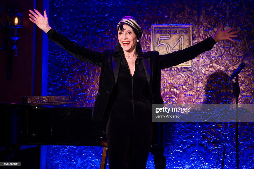 Liliane Montevecchi attends 54 Below press preview at Feinstein's 54 Below on January 22, 2016 in New York City.