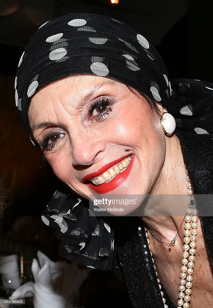 Liliane Montevecchi attends the 2014 Theater For The New City Benefit at The National Arts Club on February 24, 2014 in New York City.
