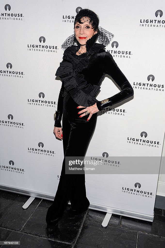 Liliane Montevecchi attends the 5th Annual 'A Posh Affair' Gala at 583 Park Avenue on May 2, 2013 in New York City.