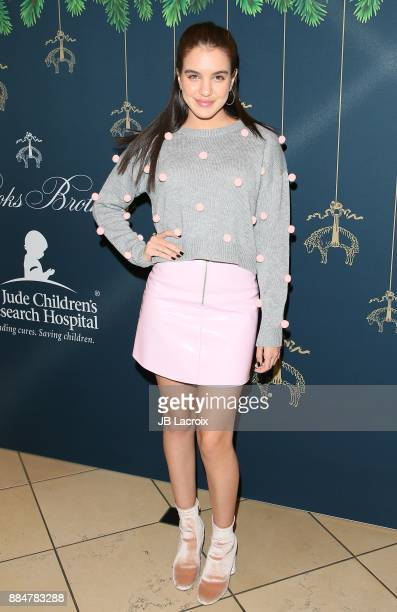 Lilimar attends the Brooks Brothers holiday celebration with St Jude Children's Research Hospital at Brooks Brothers Rodeo on December 2 2017 in...
