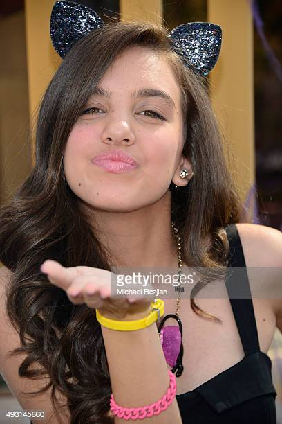 Lilimar Hernandez attends Dream Halloween 2015 at the Egyptian Theatre on October 17 2015 in Hollywood California